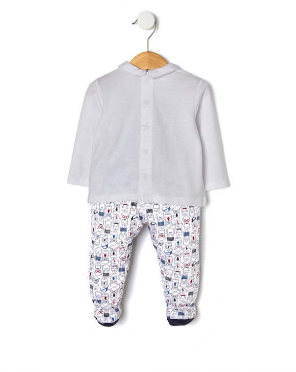 Completo in jersey con stampa - Prénatal