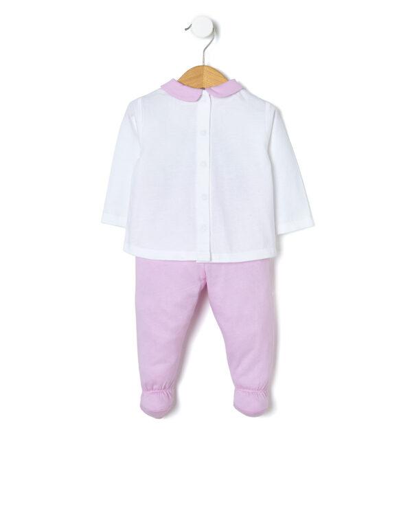 Completo in jersey bicolor - Prénatal