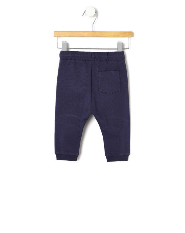Pantalone in felpa con patch gommata - Prénatal