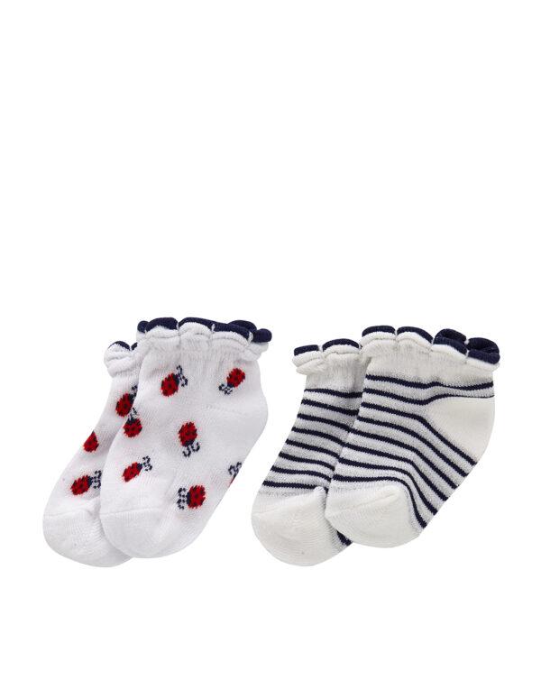 Pack 2 paia di calzini con coccinelle - Prénatal