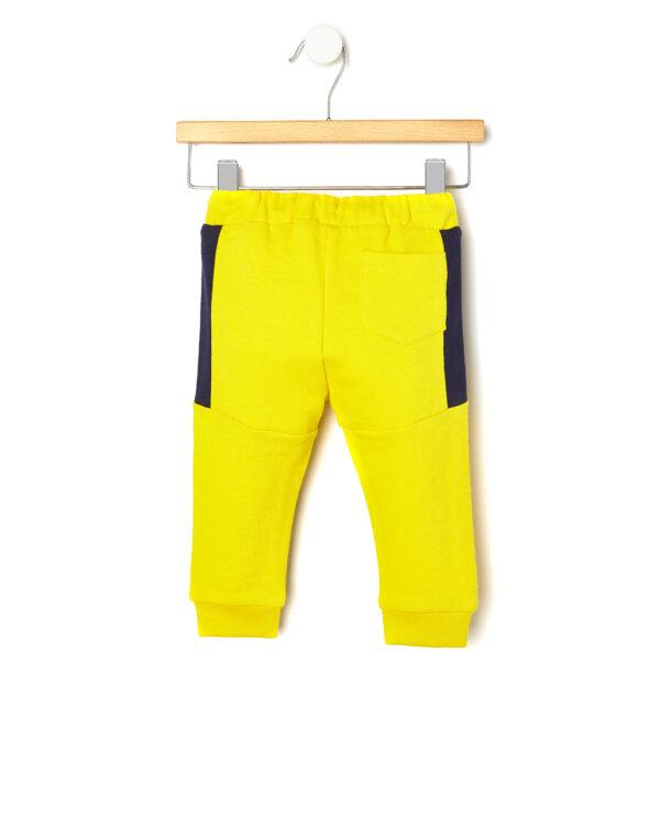 Pantalone in felpa giallo con coulisse - Prénatal