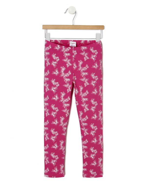 Leggings in jersey con stampa farfalle - Prénatal