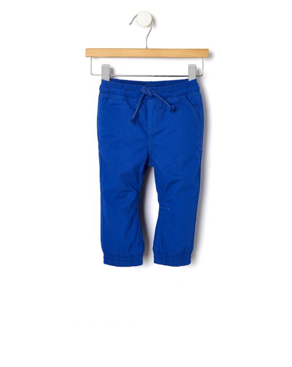 Pantalone popeline in tinta unita - Prénatal