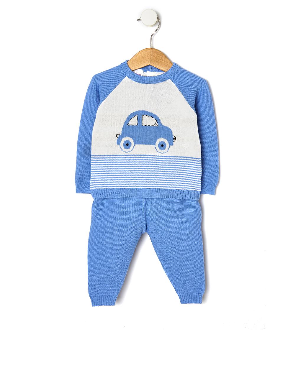 Completo in tricot azzurro - Prénatal