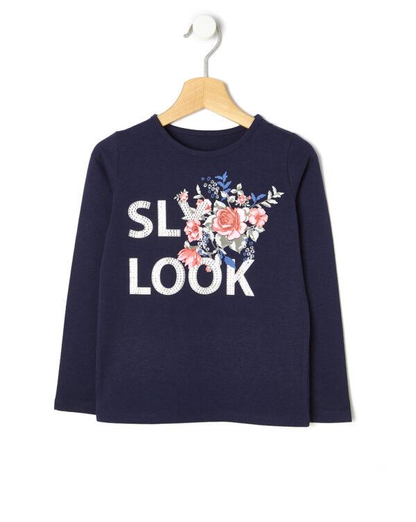 T-shirt con stampa fiori - Prénatal