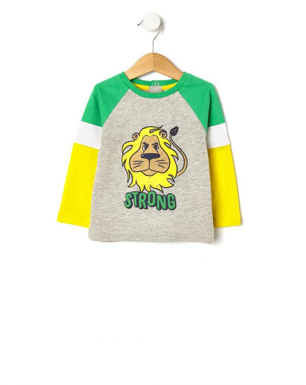 T-shirt con stampa leone - Prénatal