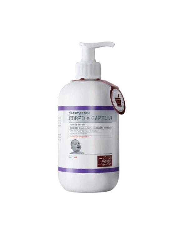 Detergente corpo e capelli – 400 ml - Fiocchi di Riso