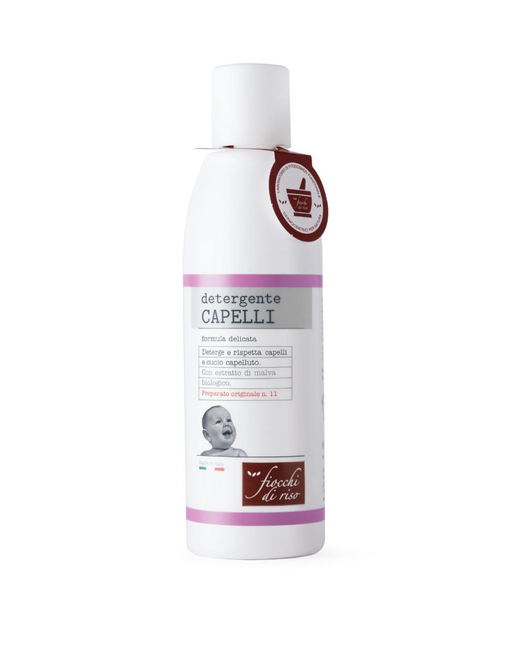 Detergente capelli – 200 ml - Fiocchi di Riso