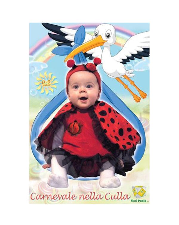 Costume coccinella fagottino (0/9 mesi) - Ciao Srl