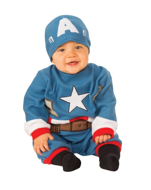 Costume Capitan America (0/6 mesi) - Animal World