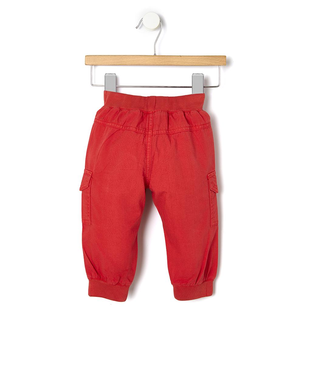 Pantalone cargo con rib - Prénatal