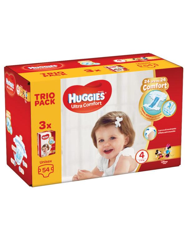 Huggies Ultra Comfort (7-18 kg) – 54 pezzi - Huggies