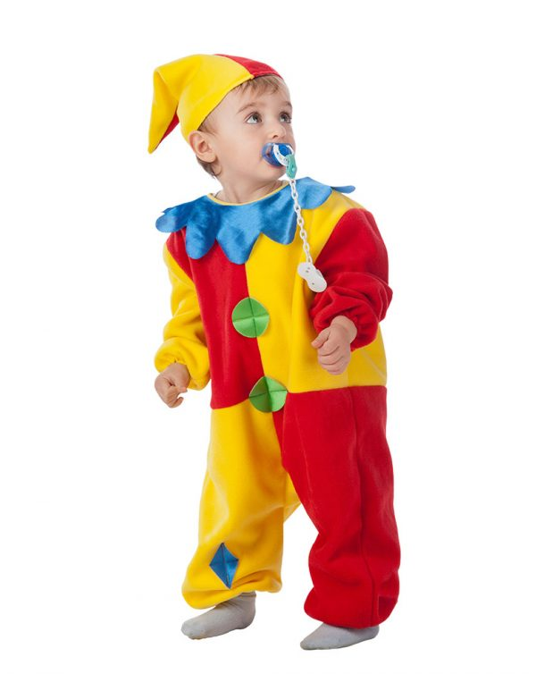 Costume clown baby (1/2 anni) - Carnival Toys