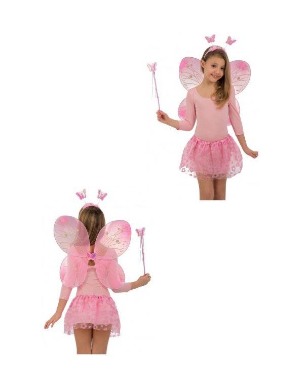 Set farfalla rosa - Carnival Toys