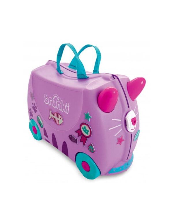 Trunki valigia cavalcabile - gatta - Trunki
