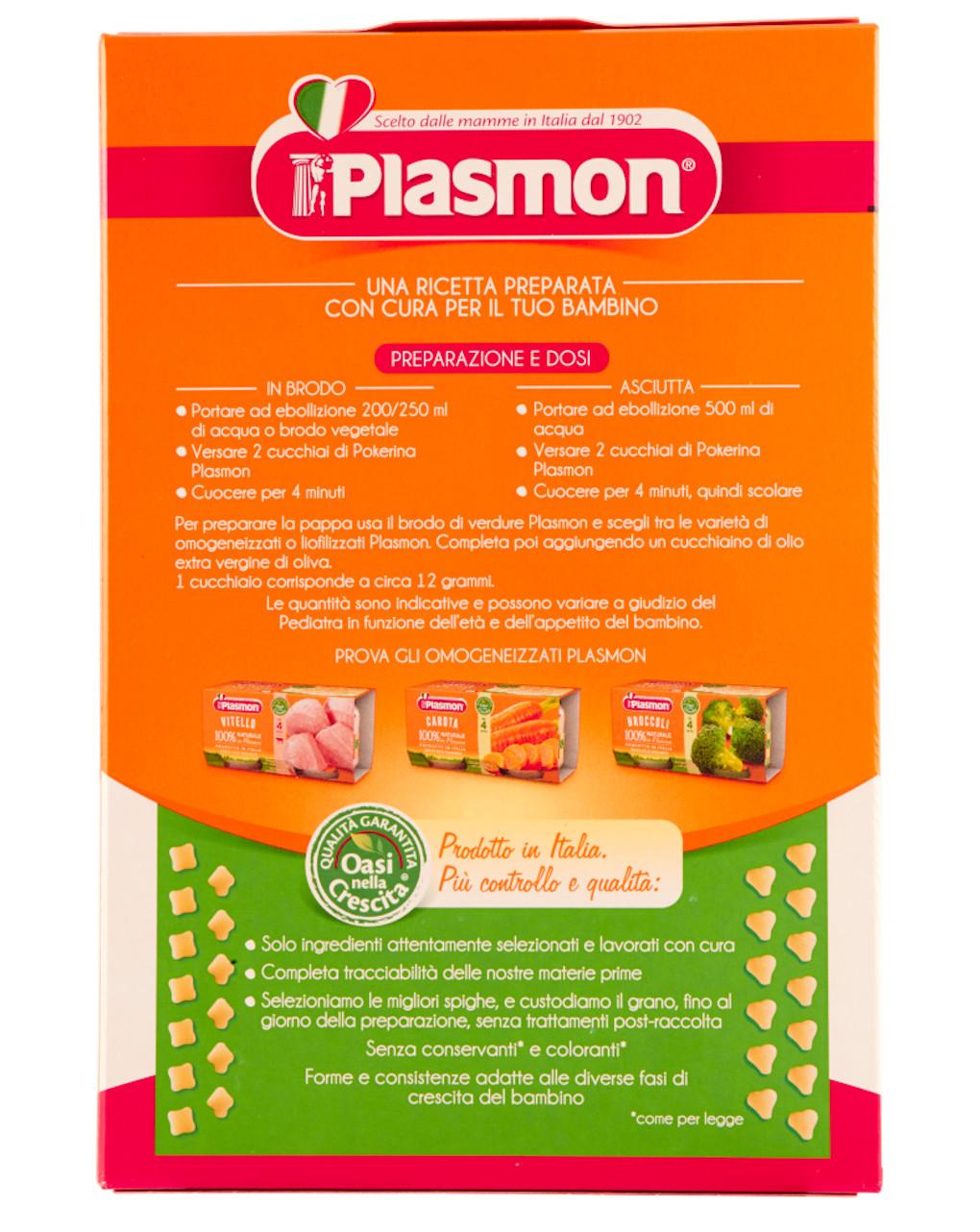 Pastina plasmon pokerina – 340 gr - Plasmon