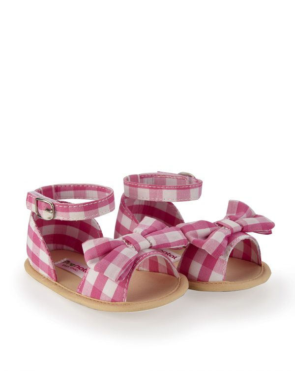 Sandaletto vichy rosa - Prenatal 2