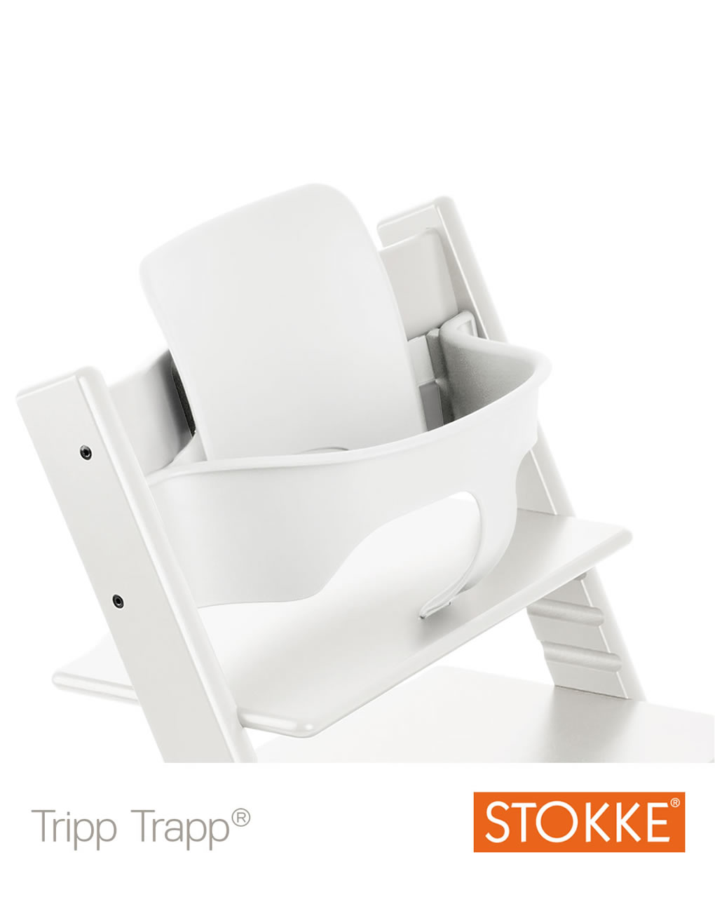 Stokke® baby set per tripp trapp® - bianco - Stokke