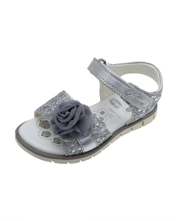 Sandalo Clossy argento - Chicco