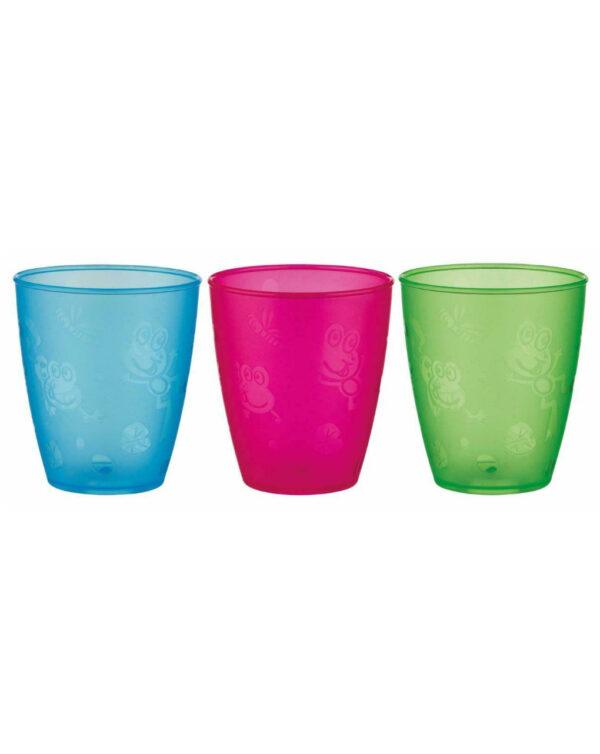 Bicchieri 300 ml 3 pz - Nuby