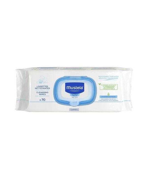 Salviette detergenti pelle normale - Mustela