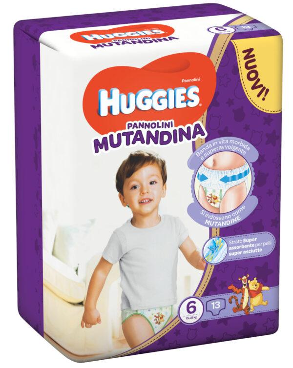 Huggies - Pannolini Mutandina tg. 6 (13 pz) - Huggies