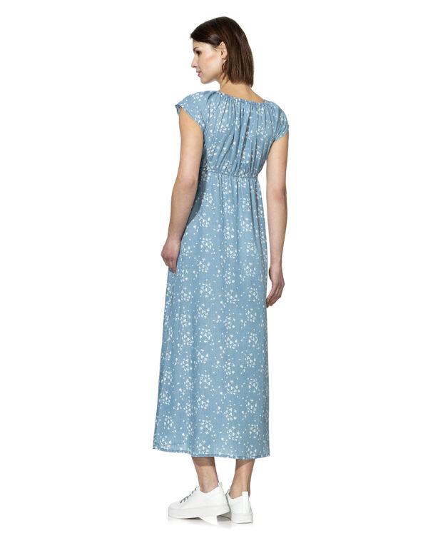 Vestito lungo in lyocell con stampa allover - Prénatal