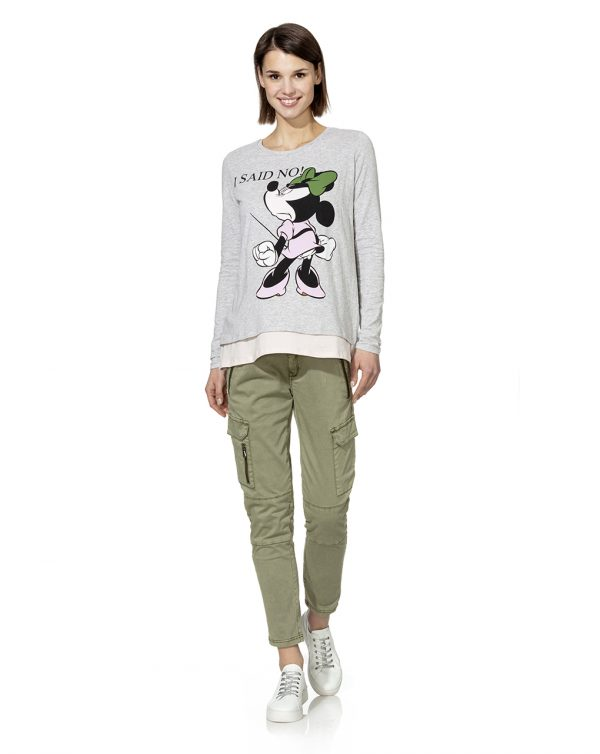 T-shirt doppiata con stampa Minnie - Prénatal