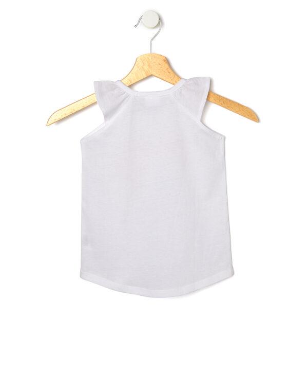 Canotta bianca con stampa bamboline - Prenatal 2