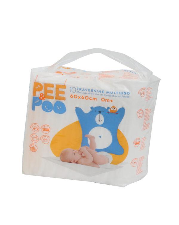 The Pee & The Poo Traversina 60x60 - The Pee & The Poo