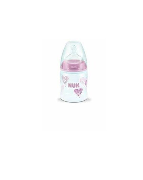 Biberon 150 ml silicone rosa - Nuk