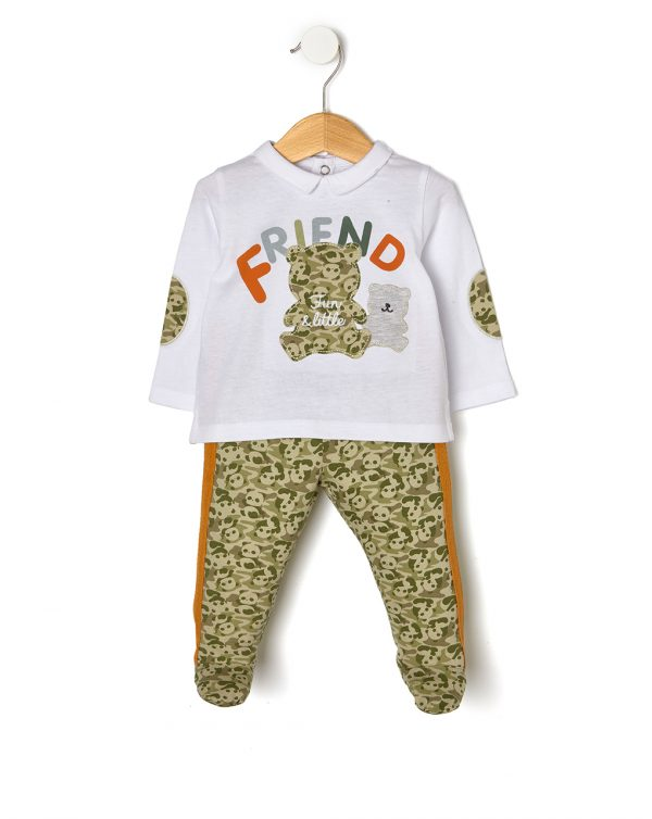 Completo maglia e ghette con panda - Prenatal 2