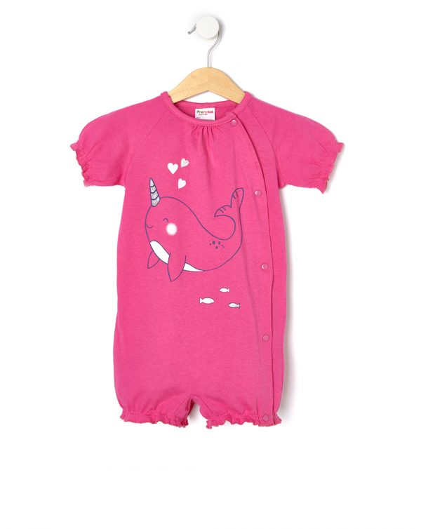Pigiamone in jersey con stampa balena - Prenatal 2