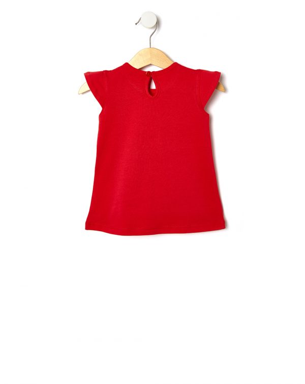 T-shirt in jersey con stampa glitter - Prénatal
