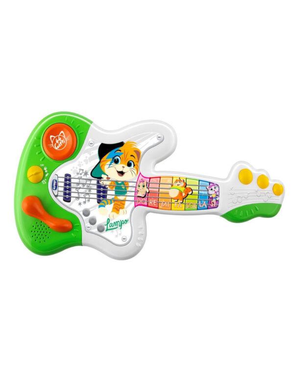 CHICCO - CHITARRA MUSICALE 44 GATTI - 44 Gatti