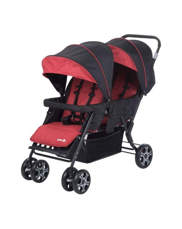 Teamy red ribbon chic passeggino gemellare - Safety 1st