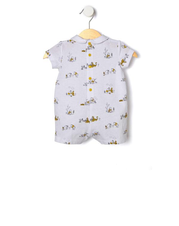 Tutina corta con stampa all-over Winnie the Pooh - Prenatal 2