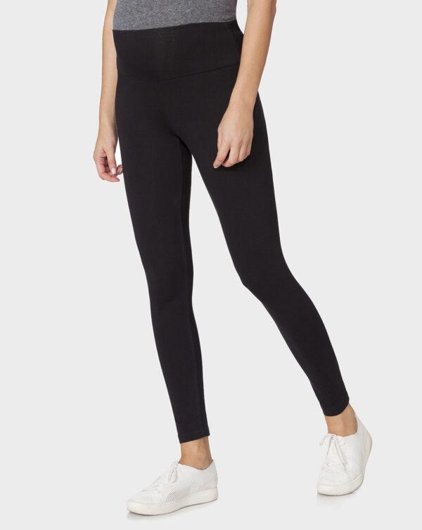 Leggings nero con fascia - Prénatal