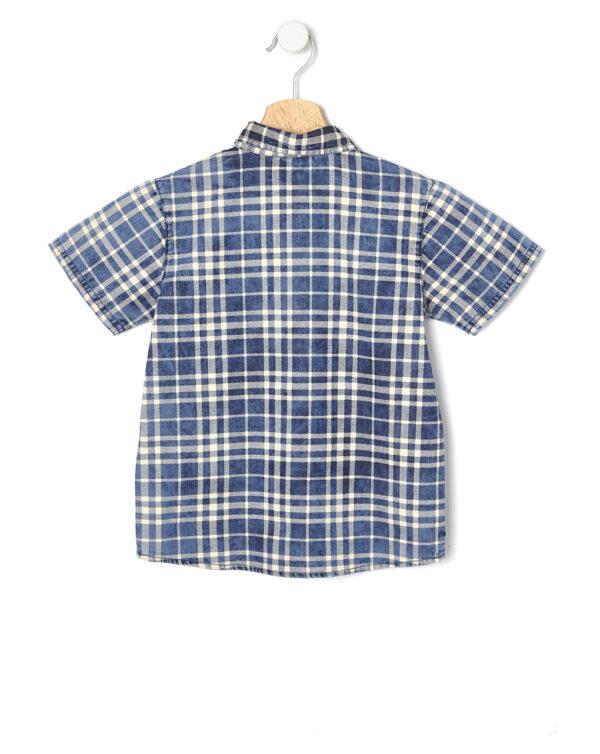 Camicia chambray mezza manica - Prenatal 2