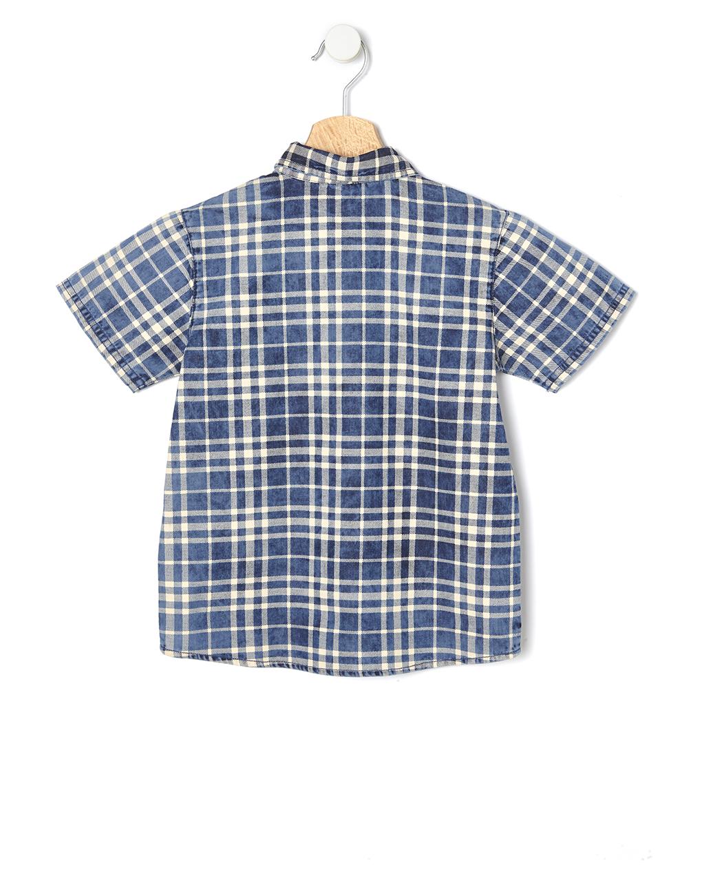Camicia chambray mezza manica - Prénatal