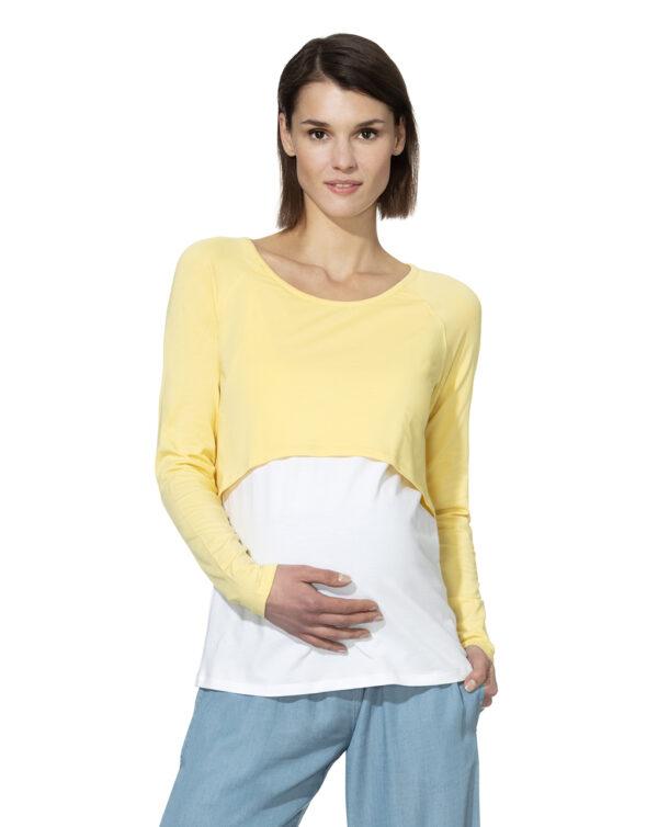 T-shirt allattamento manica lunga - Prénatal