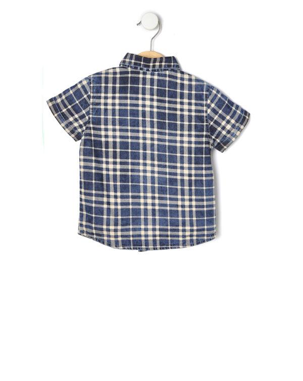 Camicia mezza manica in chambray - Prénatal