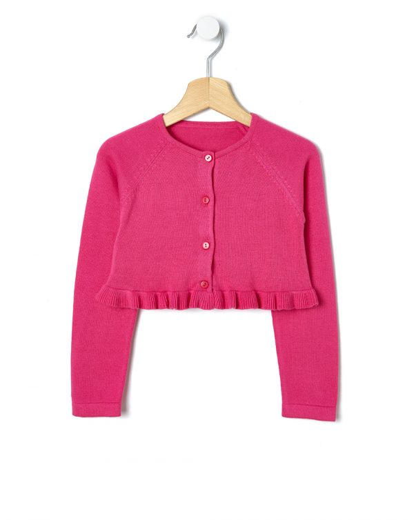 Bolero tricot con rouches - Prénatal