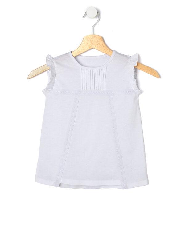 T-Shirt con nastro in pizzo applicato - Prénatal