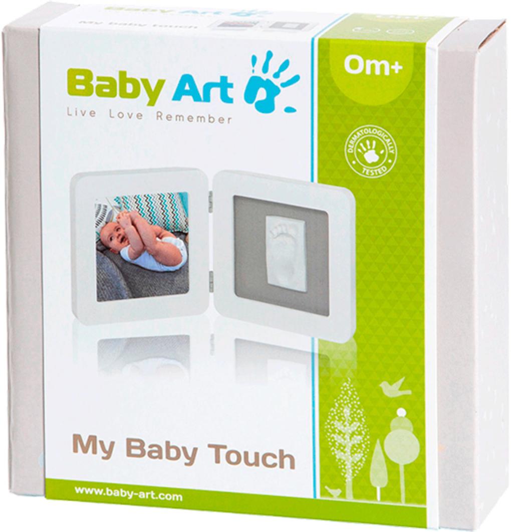Baby art portafoto my baby touch simple - bianco - Baby Art