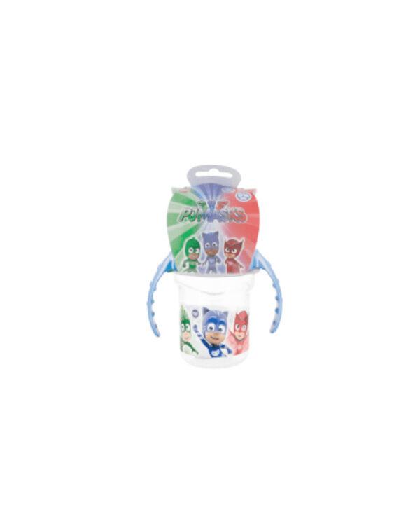 Tazza viaggio con beccuccio silicone pj mask - OLED