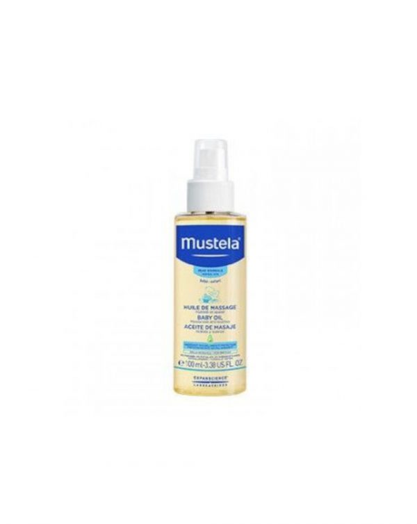 Olio idratante per massaggio 100ml. - Mustela