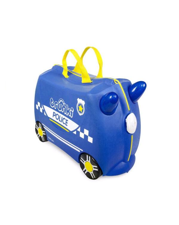 Trunki valigia cavalcabile Percy Polizia - Trunki