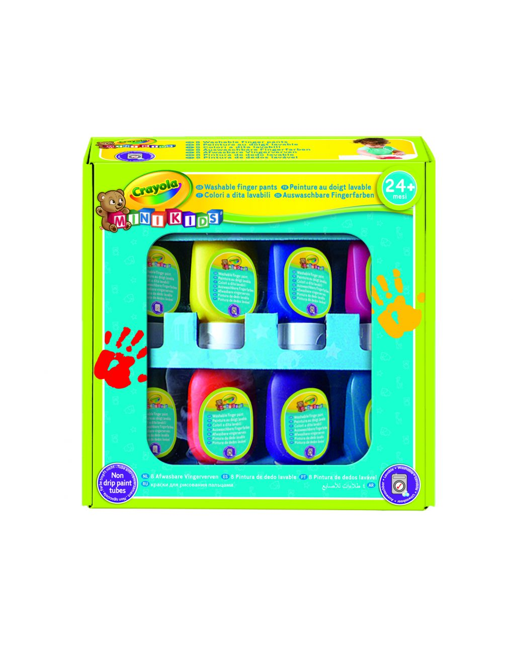 Crayola - set pitturare con le dita mini kids - Crayola