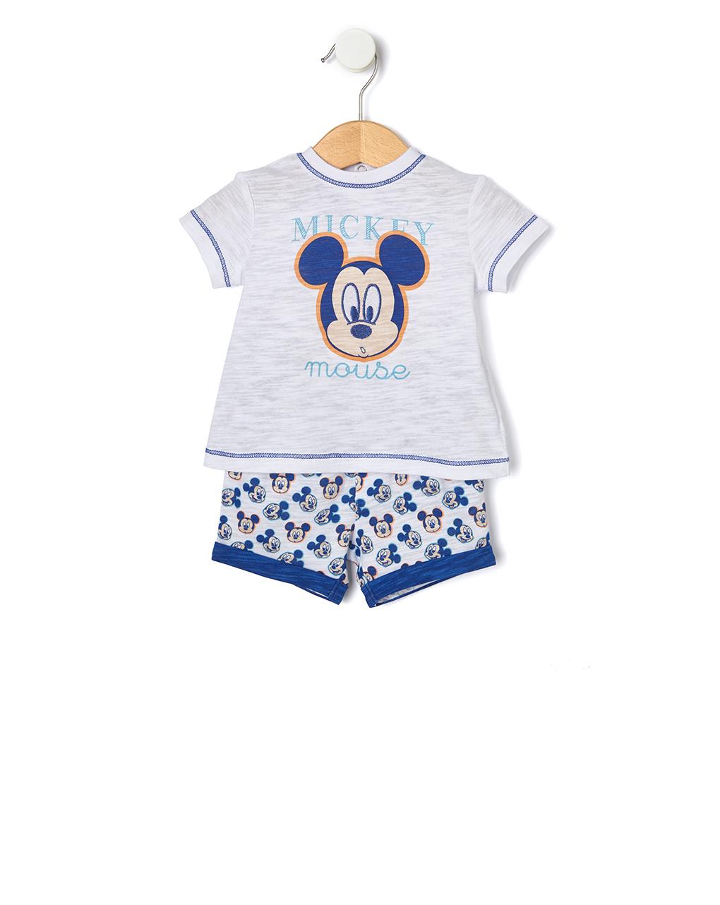 Completo in jersey con stampa topolino - Prénatal